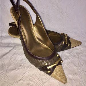 A. Marinelli Sling Back Heels